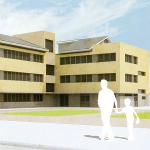 architecture project -school in humanes