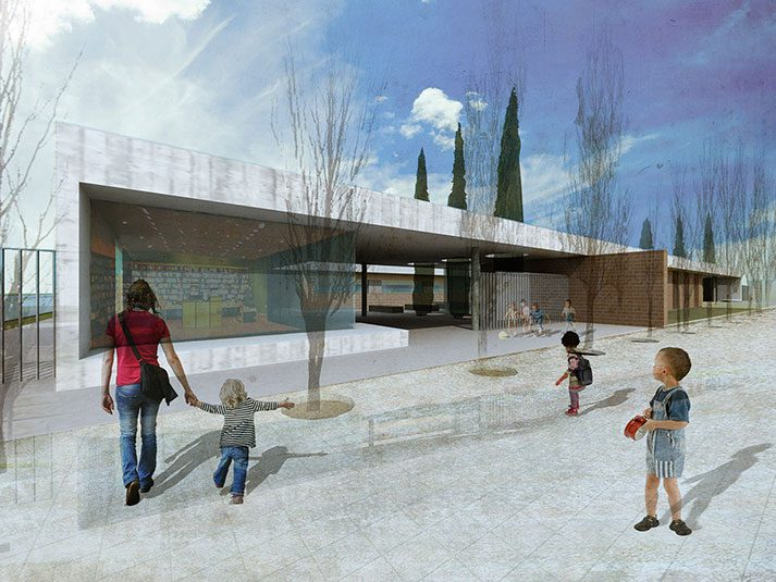 Educational center in Humanes -Si Architects