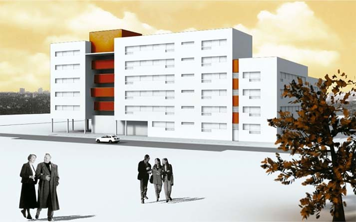 Architecture Project -housing in Móstoles