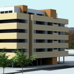 Architecture Project -housing in Alcalá de Henares