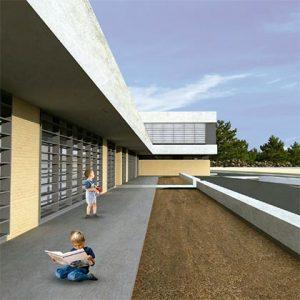 architecture project school in valencia