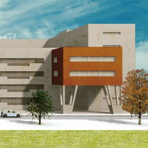 architecture project - housing in mostoles