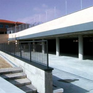 architecture project school in Madrid