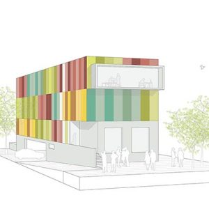 Architecture project - office building Madrid