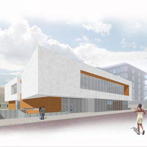 Architecture project - Sanchinarro Gym proposal