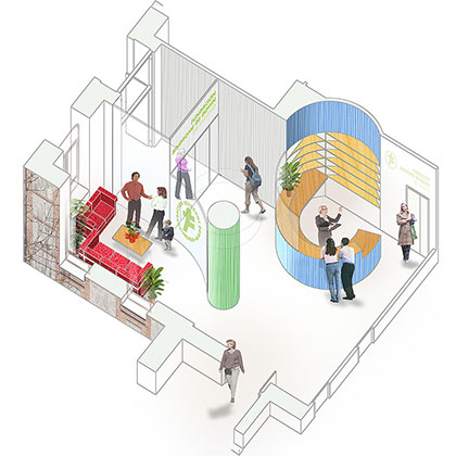 achitecture project fsdm headquarters in madrid