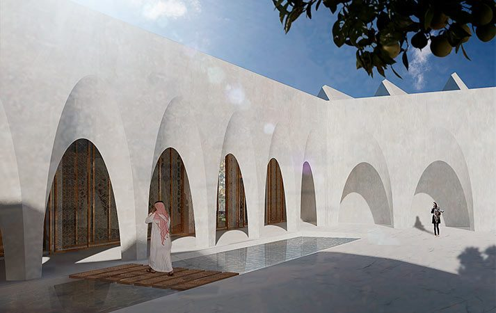 Grand Mosque and multipurpose hall Bahrain