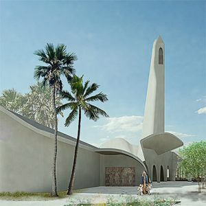 Grand Mosque and multipurpose hall proposal